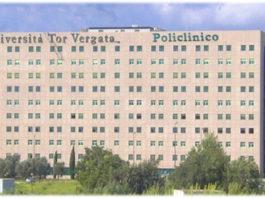 Veduta del Policlinico di Tor Vergata